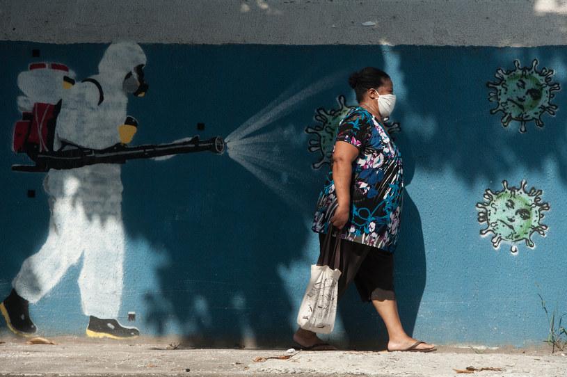 W ciągu minionych 24 godzin w Brazylii odnotowano ponad 33 tys. nowych przypadków koronawirusa. /Allan Carvalho/NurPhoto via Getty Images /Getty Images