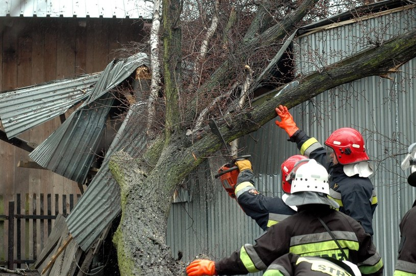 W ciągu ostatniej doby strażacy interweniowali ponad 900 razy (zdjęcie ilustracyjne) /Marek Lasyk  /Reporter