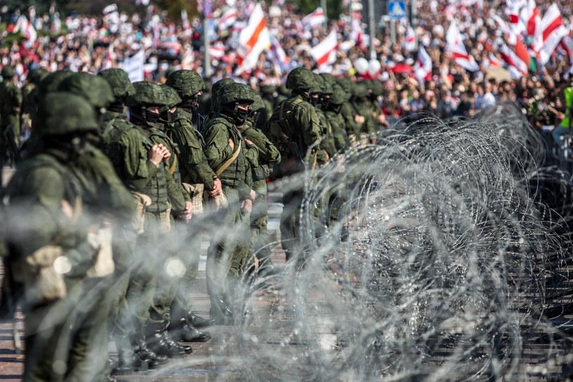 W ciągu powyborczych protestów na Białorusi zatrzymano już ok. 10 tys. osób /TUT.BY /AFP