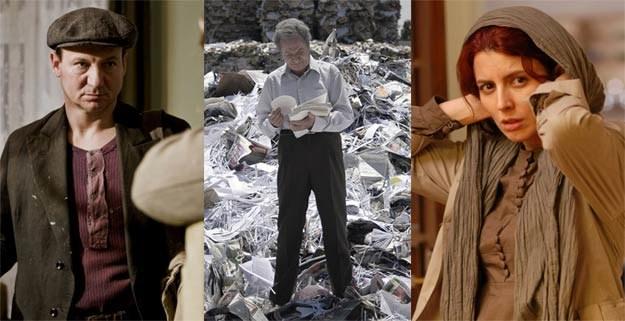 """""""W ciemności"""" (L) walczy o Oscara m.in. z izraelskim """"Footnote"""" (C) oraz irańskim """"Rozstaniem (P) /materiały dystrybutora"""