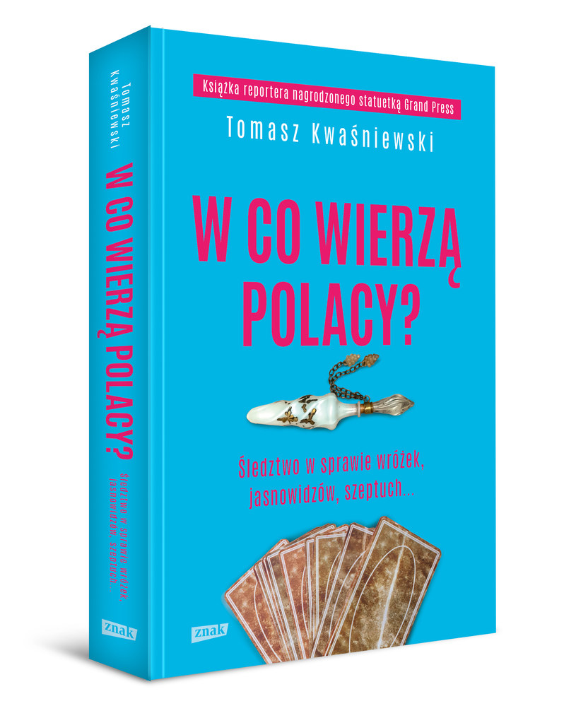 """""""W co wierzą Polacy?"""", okładka książki /materiały prasowe"""