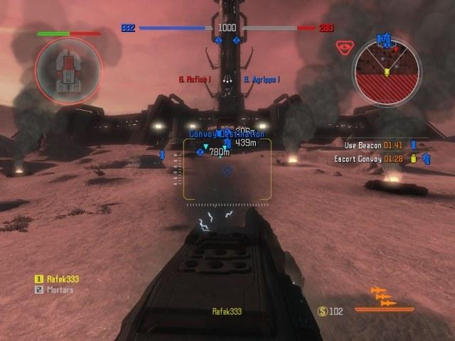 W czasie eskortowania konwoju gracze mogą nie tylko go ubezpieczać, lecz również prowadzić i strzela /gram.pl