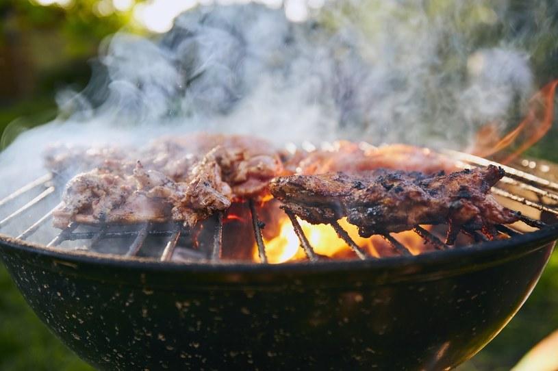 W czasie grilla do środowiska i do potraw przedostają się trujące dioksyny /123RF/PICSEL