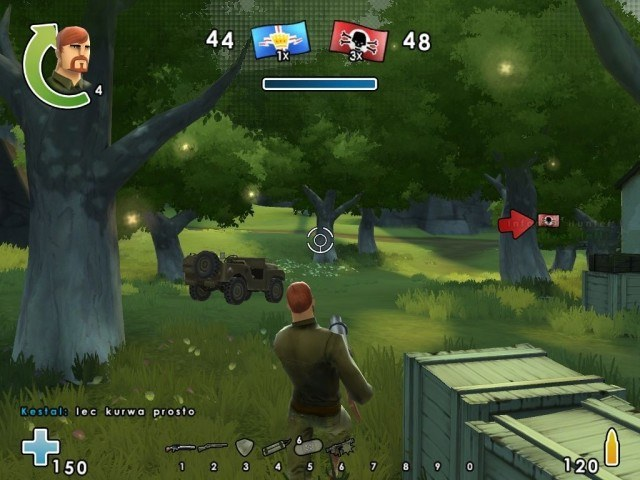 W czasie gry żołnierze mogą korzystać z własnych umiejętności specjalnych oraz dopalaczy /INTERIA.PL