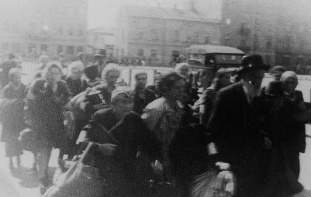 W czasie likwidacji getta Niemcy zamordowali w Krakowie około dwóch tysięcy Żydów /IPN