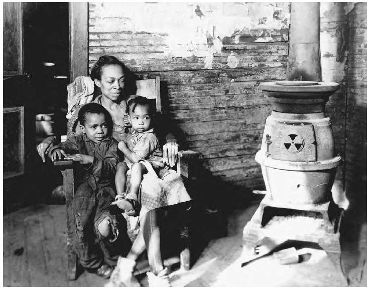W czasie Wielkiego Kryzysu Afroamerykanie mieli gigantyczny problem ze znalezieniem nawet najgorszej posady. Fotografia pochodzi z roku 1937 /Domena publiczna /INTERIA.PL/materiały prasowe