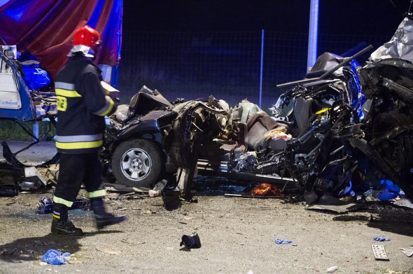 W czeskim Subaru zginęły trzy osoby /Grzegorz Michałowski /PAP