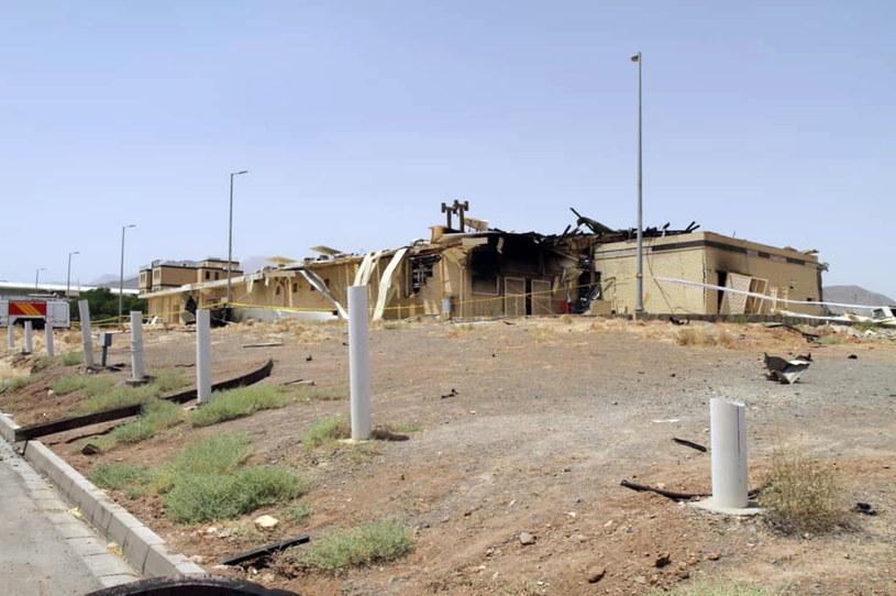 W czwartek doszło do pożaru w ośrodku wzbogacania uranu w Natanz /ATOMIC ENERGY ORGANIZATION OF IRAN /PAP/EPA