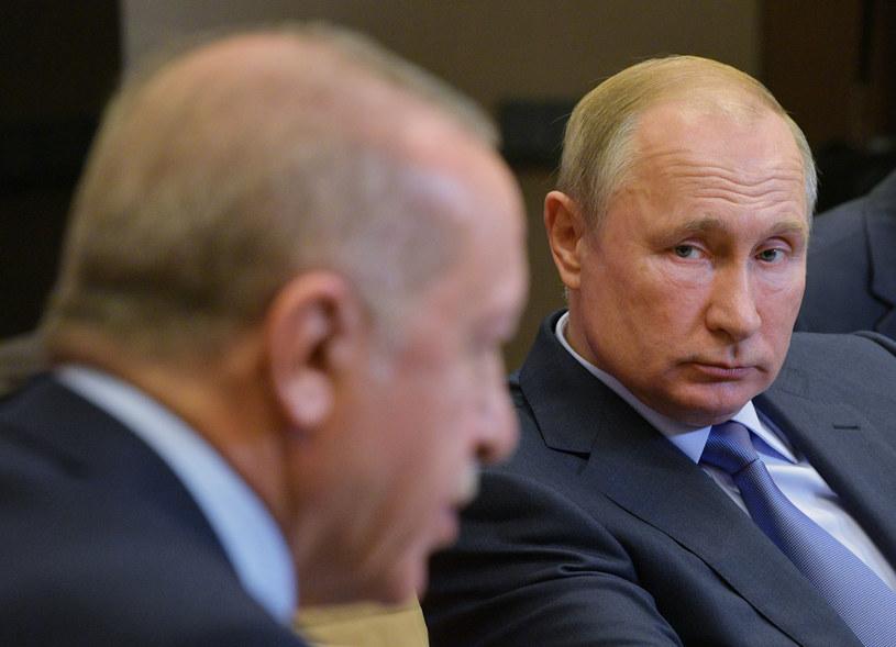 W czwartek prezydent Turcji Recep Tayyip Erdogan uda się na jednodniową wizytę do Rosji /Alexei Druzhinin/SPUTNIK /East News