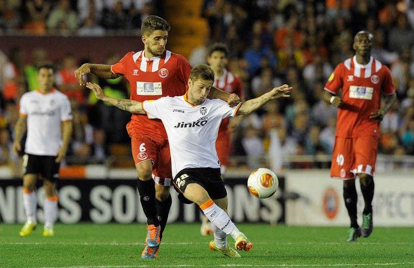 W czwartek Sevilla wyeliminowała Valencię w półfinale Ligi Europejskiej /AFP