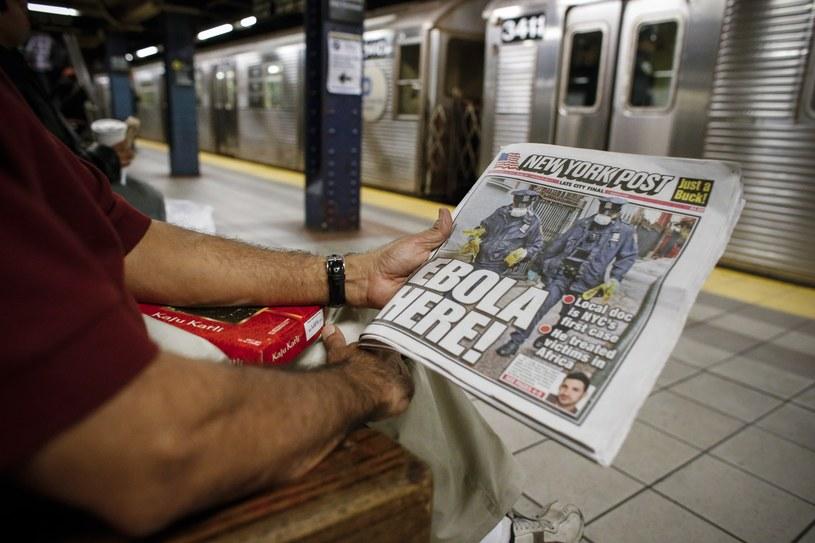 W czwartek w Nowym Jorku wykryto wirusa eboli u lekarza, który powrócił z Afryki Zachodniej /AFP