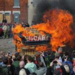 W dawnym górniczym miasteczku spalono kukłę Thatcher