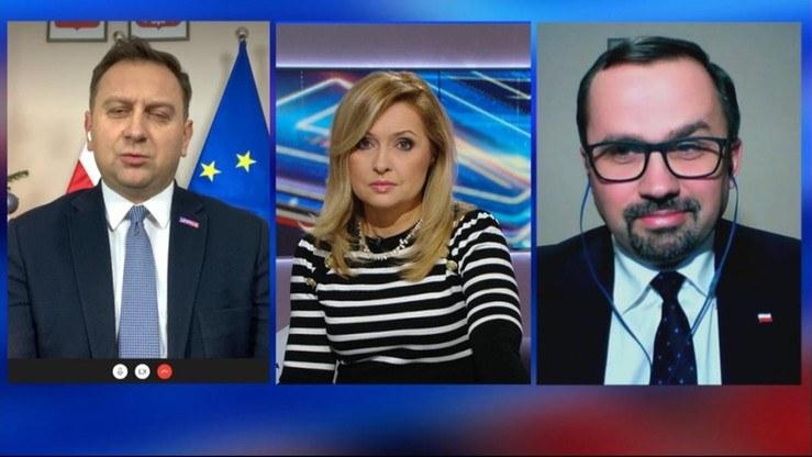 """W """"Debacie Dnia"""" dyskutowano o podwyżkach cen prądu /Polsat News"""