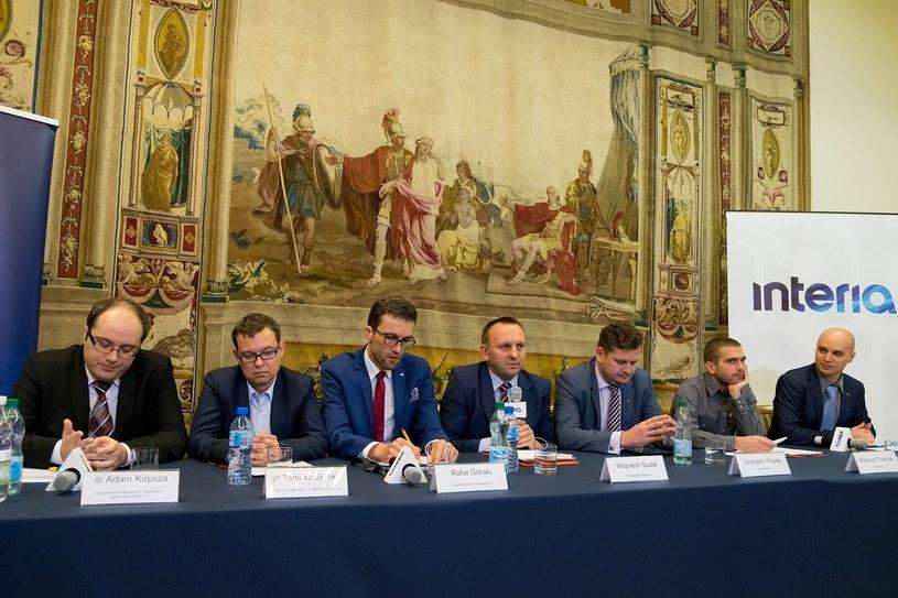W debacie udział wzięli: Wojciech Sudoł, dr Adam Kirpsza, dr Tomasz Soroka, Rafał Górski, Grzegorz Filipek Mateusz Trzeciak. /Paweł Krawczyk /INTERIA.PL