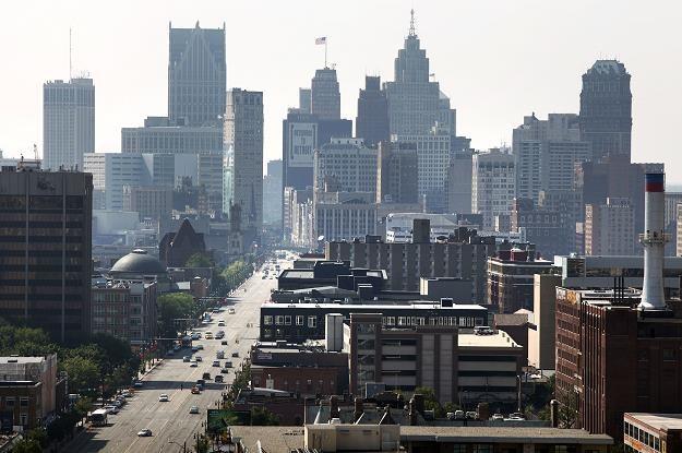 W Detroit mieszka 600 tys. osób, kiedyś mieszkało 1,5 mln... /AFP