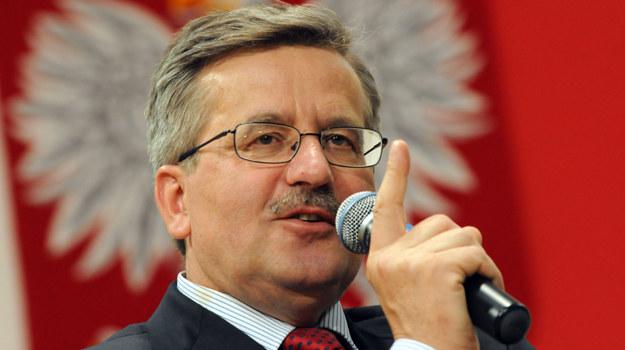W dniach: 1-7 czerwca Bronisław Komorowski pojawił się w największych stacjach telewizyjnych 44 razy /Agencja FORUM