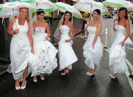 W dniu ślubu każda kobieta chce ładnie wyglądać /Getty Images/Flash Press Media