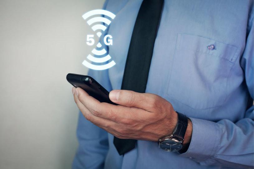 W dniu uruchomienia na sieć 5G T‑Mobile składa się pięć stacji bazowych , nadających sygnał dostępny w centrum Warszawy /123RF/PICSEL