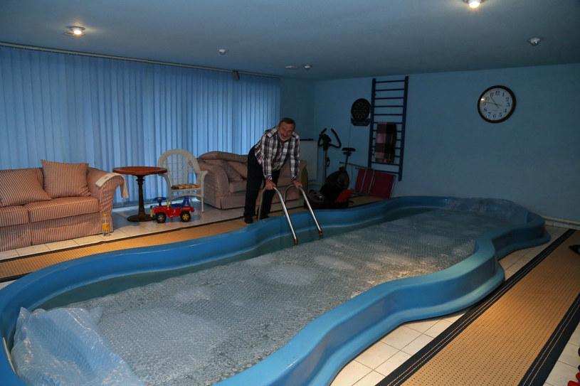 W domu Drozda ma nawet basen! /- /East News