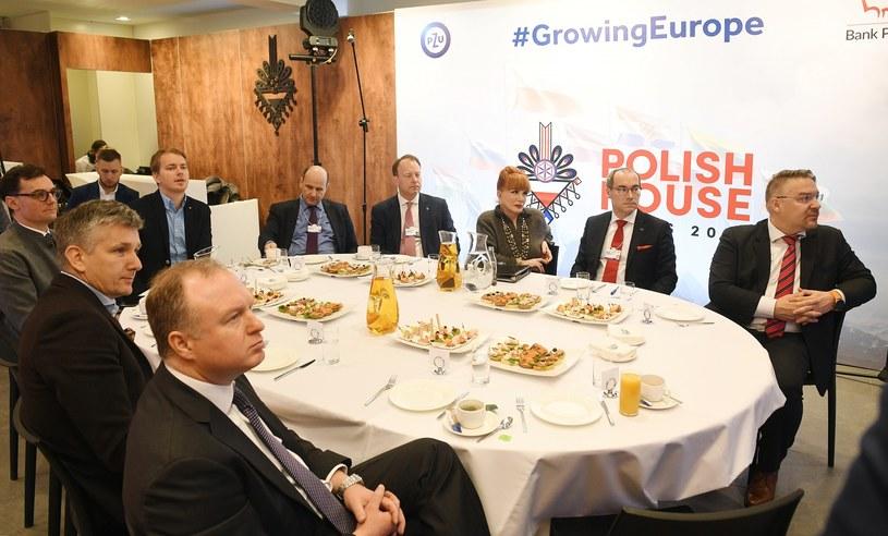 W Domu Polskim w Davos /