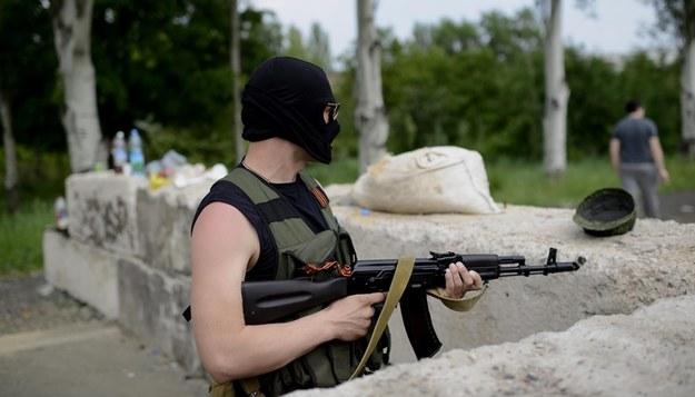 W Doniecku trwają walki na ulicach miasta /Jakub Kamiński   /PAP/EPA