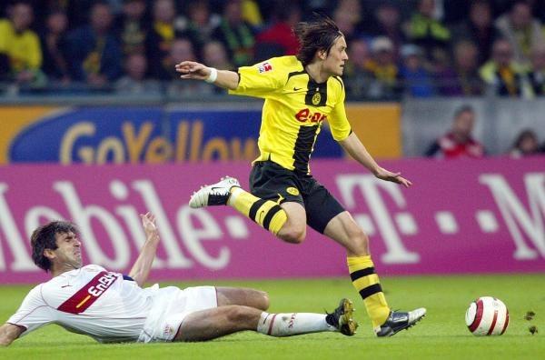 W Dortmundzie zespoły podzieliły się punktami /AFP