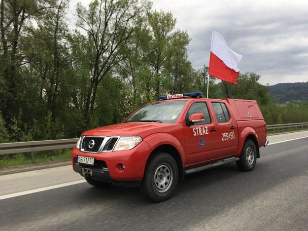 W drodze do Krakowa /Paweł Gąsior /RMF FM