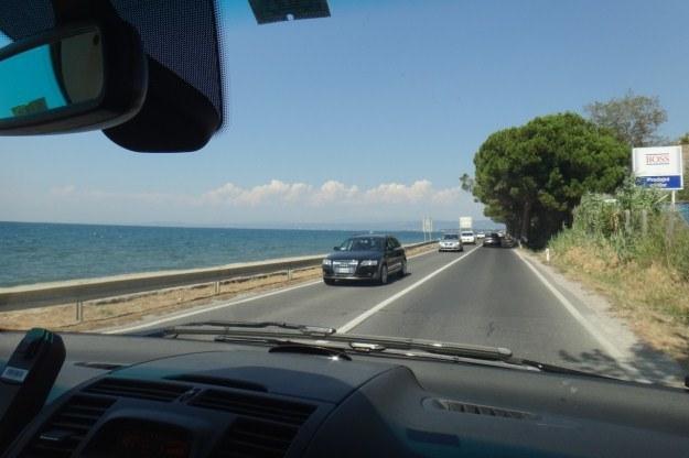 W drodze do miasta Koper, żegnamy się z Adriatykiem /INTERIA.PL
