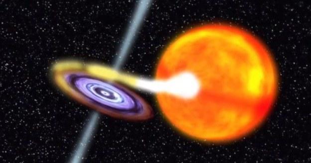 W Drodze Mlecznej odkryto nową czarną dziurę /NASA