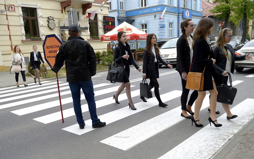 W drodze na maturę 2016, Rzeszów /Darek Delmanowicz /PAP
