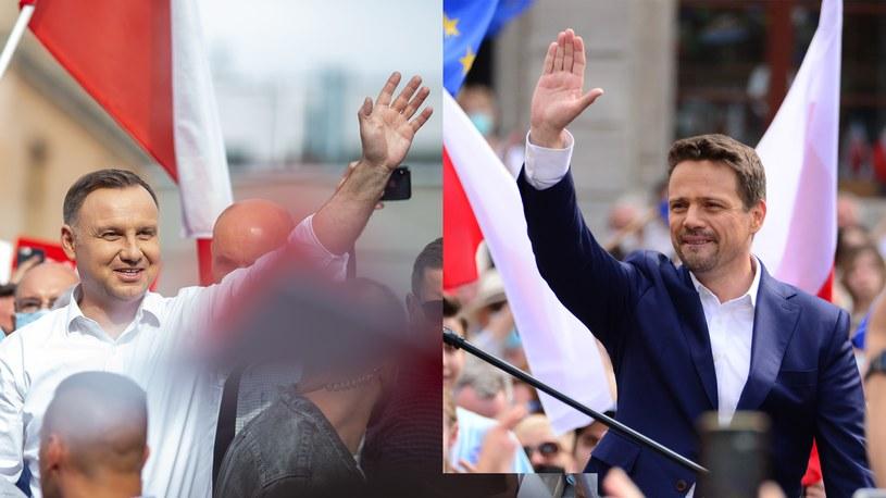 W drugiej turze wyborów prezydenckich zmierzą się Andrzej Duda i Rafał Trzaskowski /Pawel Janczyk / Aleksiej Witwicki  /Agencja FORUM