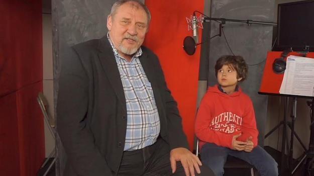 """W dubbingowej obsadzie """"Uwolnić Mikołaja!"""" znaleźli się Andrzej Grabowski i Mateusz Pawłowski /materiały dystrybutora"""