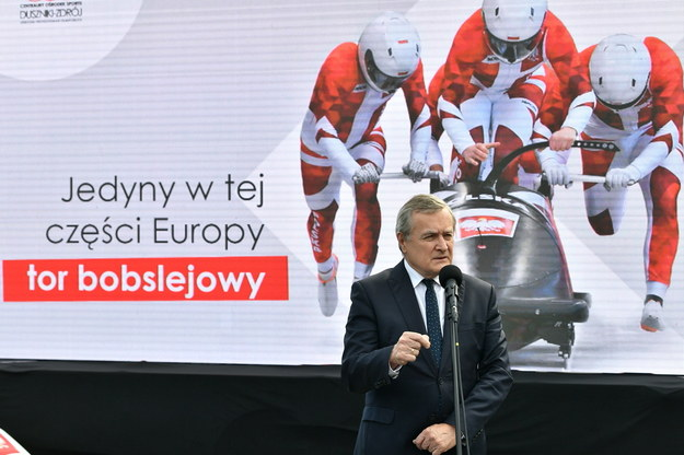 W Dusznikach-Zdroju powstaje ósmy ośrodek przygotowań olimpijskich / Maciej Kulczyński    /PAP