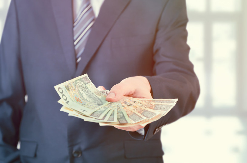 W dużych firmach płacą lepiej. Zdj. ilustracyjne /123RF/PICSEL