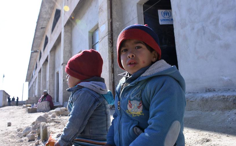 W działaniach wojennych w Aleppo codziennie ofiarami są dzieci /GEORGE OURFALIAN  /AFP