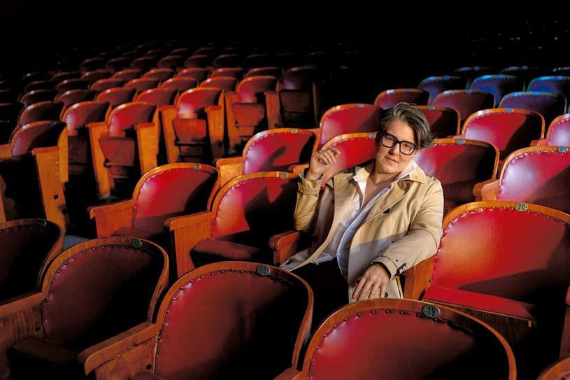 W dzieciństwie mogłam oglądać po pięć filmów dziennie. Gdy mama miała wolne, mówiła: Kaśka, nie idź dzisiaj do szkoły, lepiej pojdziemy do kina /Bartek Wieczorek/LAF  /Twój Styl