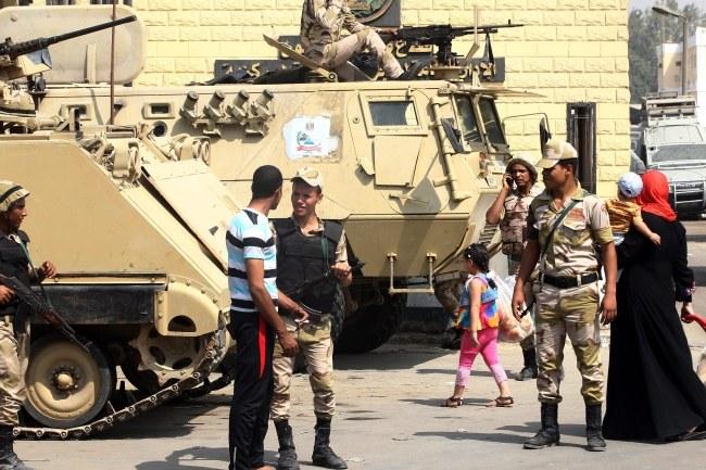 W Egipcie cały czas jest bardzo niespokojnie /Khaled  Elfiqi /PAP/EPA