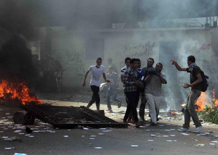 W Egipcie jest bardzo niespokojnie /AFP