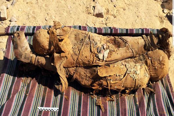 W Egipcie odkryto nowe mumie /materiały prasowe