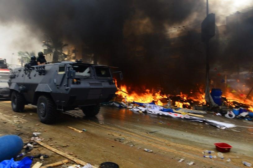 W Egipcie wciąż giną ludzie /PAP/EPA