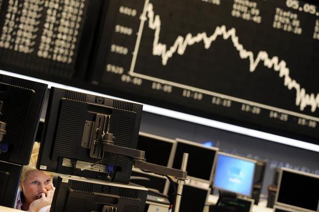 W Europie duże spadki indeksów giełdowych /AFP