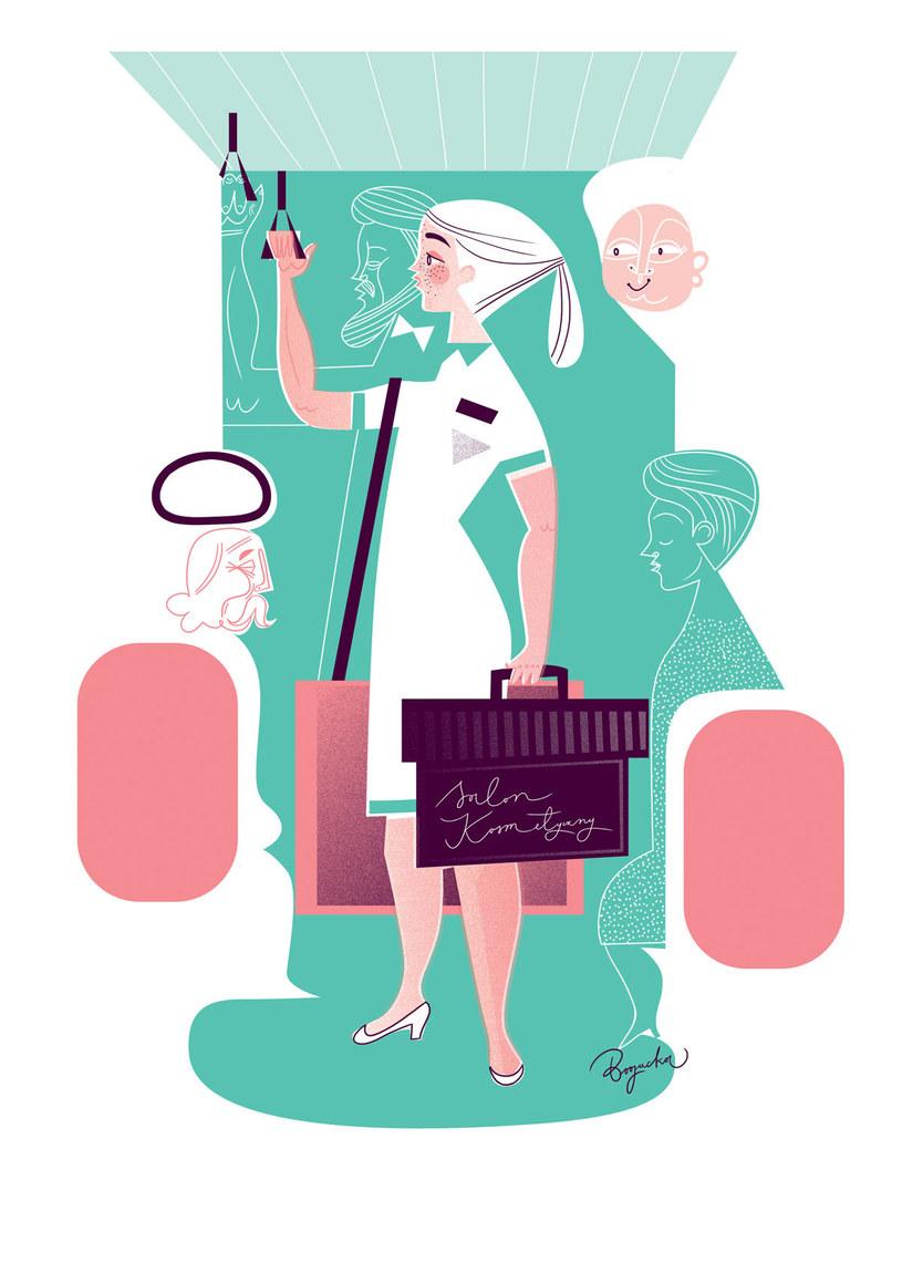 W Europie Zachodniej 20 procent usług kosmetycznych odbywa się w domu klientki /Katarzyna Bogucka /Twój Styl