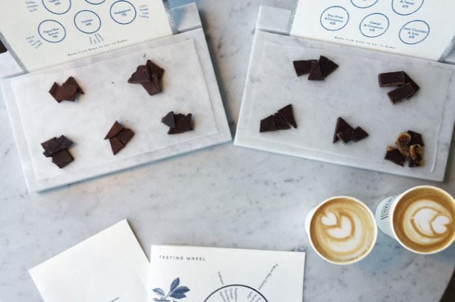 W fabryce czekolady możemy samodzielnie przygotować słodkie wyroby /materiały prasowe