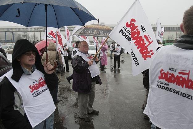 W fabryce Fiata w Tychach będzie protest... Fot. MARCIN TOMALKA /Agencja SE/East News