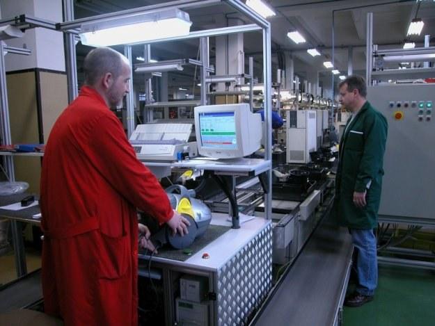 W fabryce Zelmera w Rzeszowie /Reporter