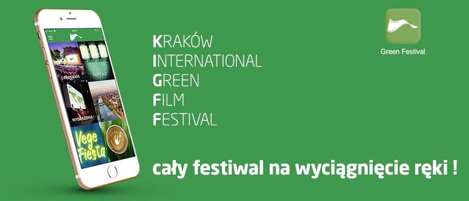 W festiwalowej aplikacji sprawdzisz program festiwalu, opisy filmów, a także wybierzesz NAGRODĘ PUBLICZNOŚCI, głosując na ulubiony film /Materiały prasowe