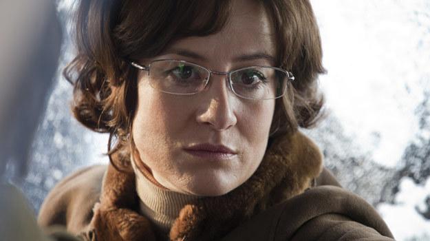 """W filmie """"Jack Strong"""" Maja Ostaszewska gra niewielką, ale ważną rolę. /materiały dystrybutora"""