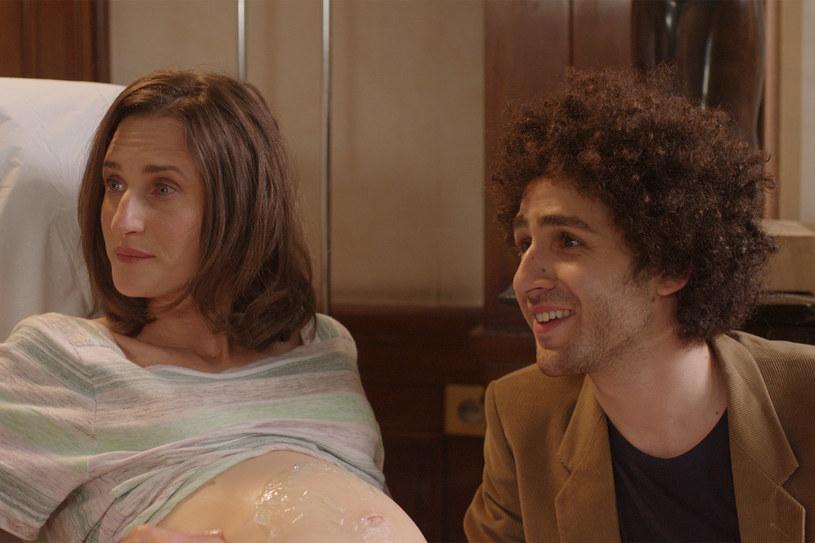 W filmie Noémie Saglio partneruje jej na ekranie Michaël Dichter /materiały dystrybutora