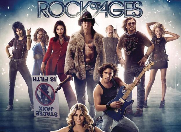 """W filmie """"Rock Of Ages"""" rockowe przeboje śpiewa m.in. Tom Cruise /"""