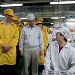 W Foxconnie niezadowoleni, bo pracują mniej